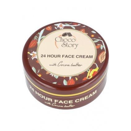 Chocolate face cream