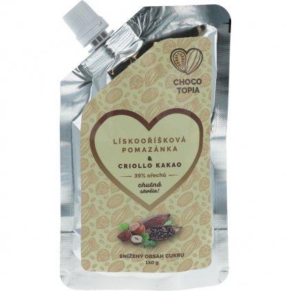 30% lískový krém & Criollo kakao 150g