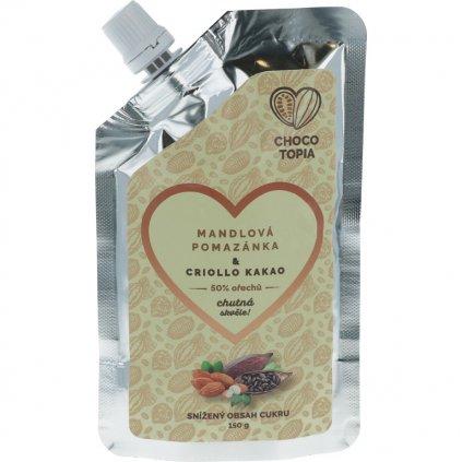 50% almond spread & Criollo cocoa 150g