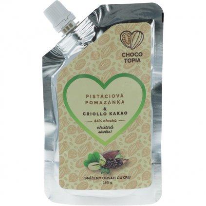 40% pistachio spread & Criollo cocoa 150g