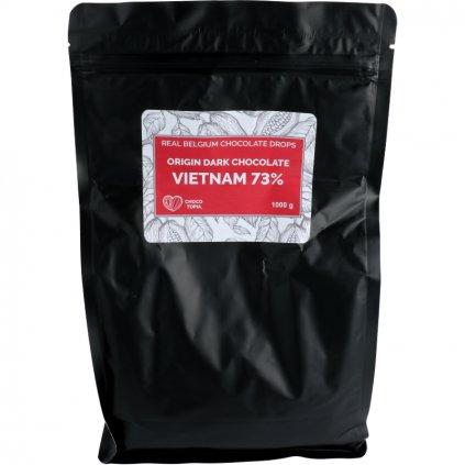 Origin hořká čokoláda Vietnam dropsy 73%