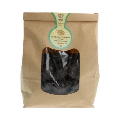 Hořká čokoláda Afrika Chocotopia 82% dropsy 1kg