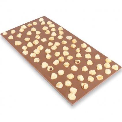 Čokoládová tabulka 300g - lískový ořech