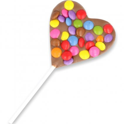 Heart lolly 30g - smarties