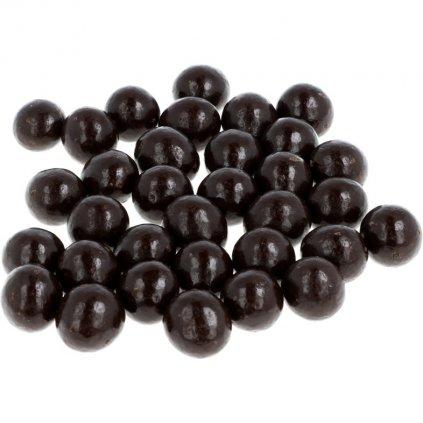 Lískové ořechy v čokoládě - hořké 72%