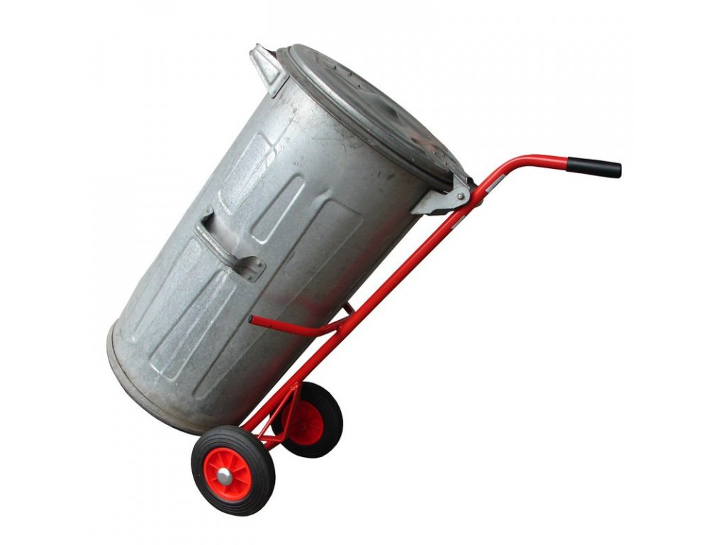 vozik na popelnici rudl