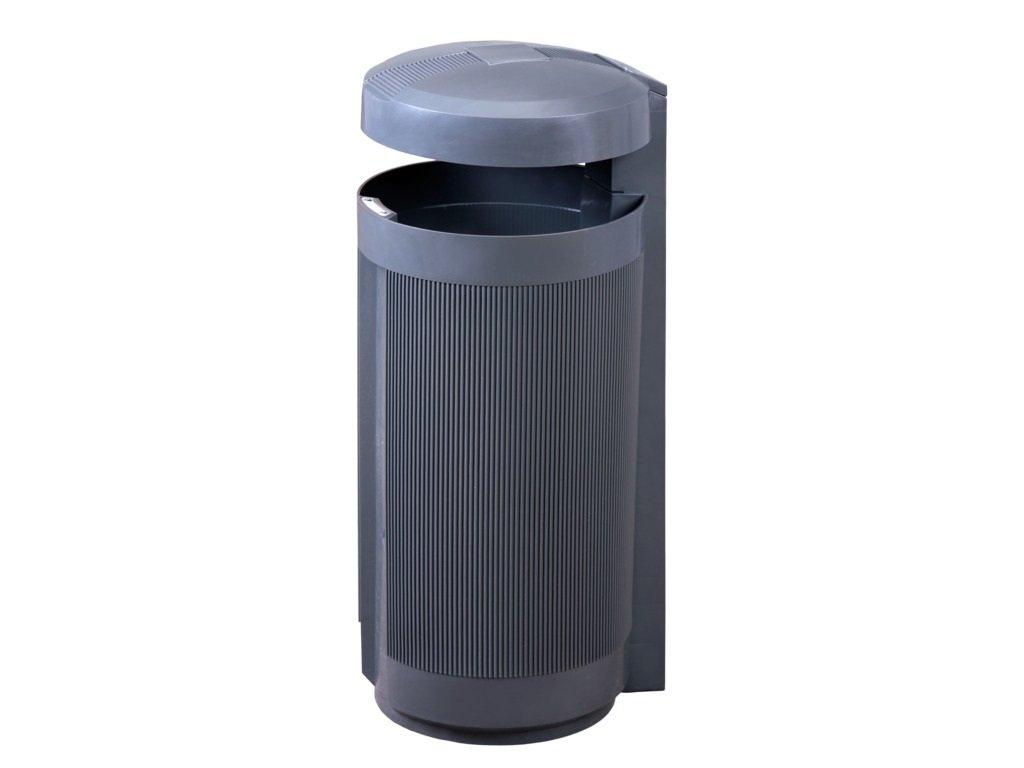 908 4 odpadkovy kos prima linea 50 l sedy