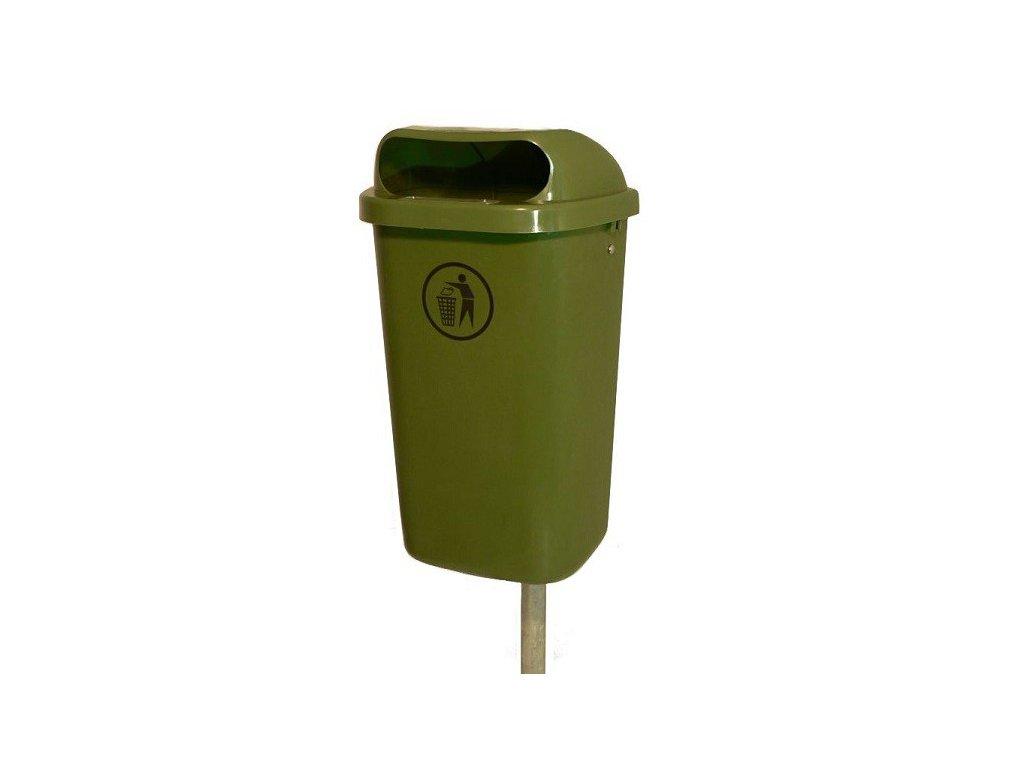 kos doni venkovni plastovy zeleny male