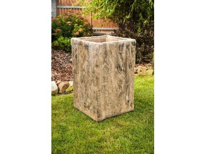 venkovni betonovy kos tvar dreva