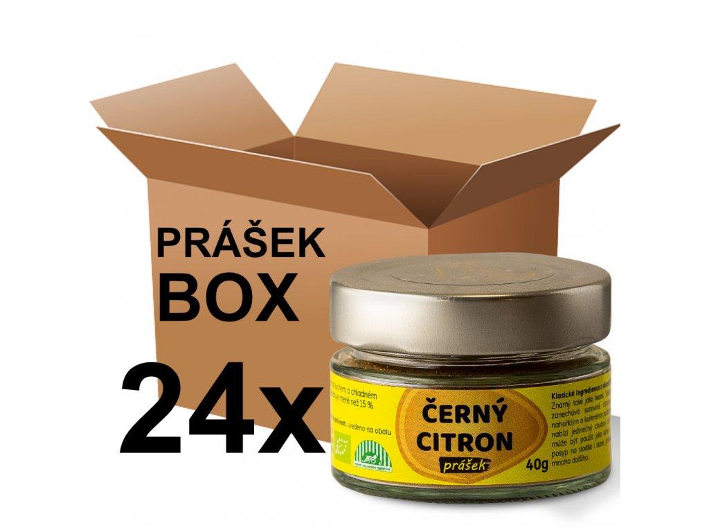 prášek citron 40g box