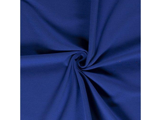 Teplákovina nepočesaná 92 % bavlna / 8 % elastan 295g/m2 (Barva Petrolej - 324)