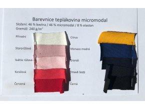 vzornik teplakoviny micromodal