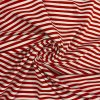 bavlneny uplet cerveno bily pruh 0 5 cm