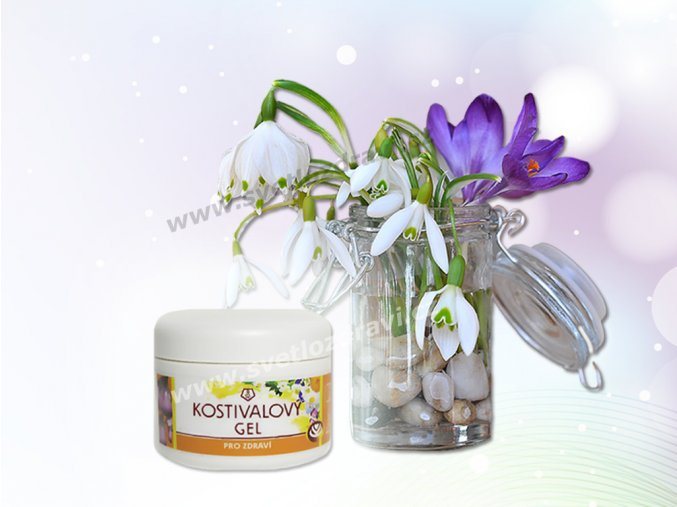 Kostivalový gel 150ml
