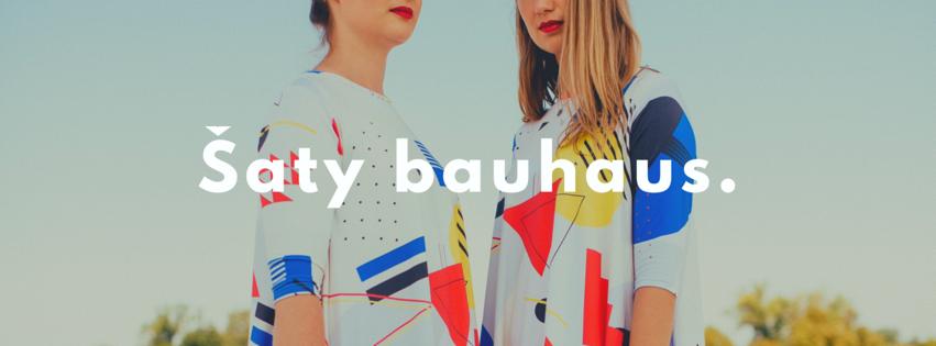 Viskózové šaty Bauhaus