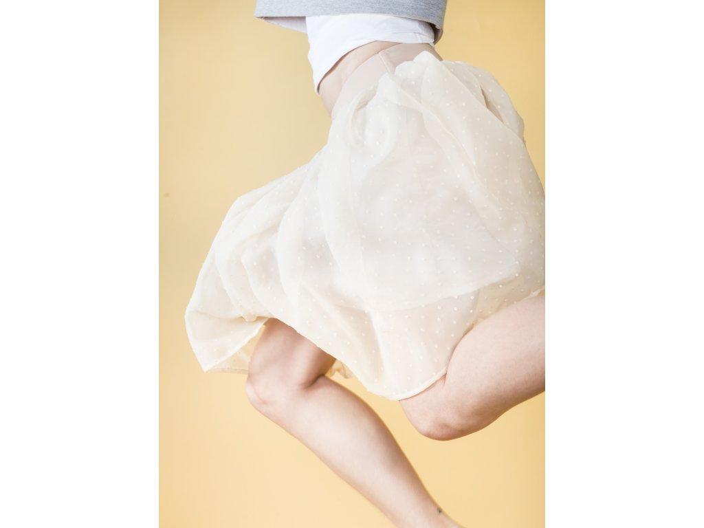 title · Áčková šifonová sukně s puntíky ... 0c6ed09ed3