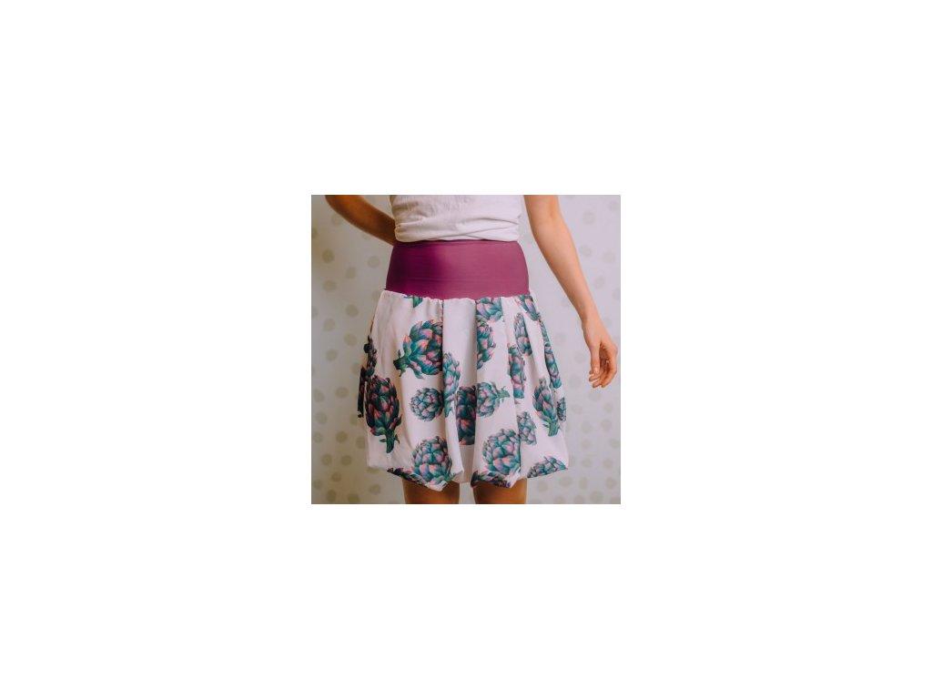 Balonová sukně s Artyčoky SLEVA!