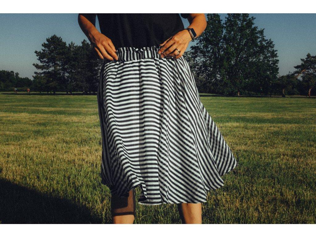 Kolová sukně Hedva