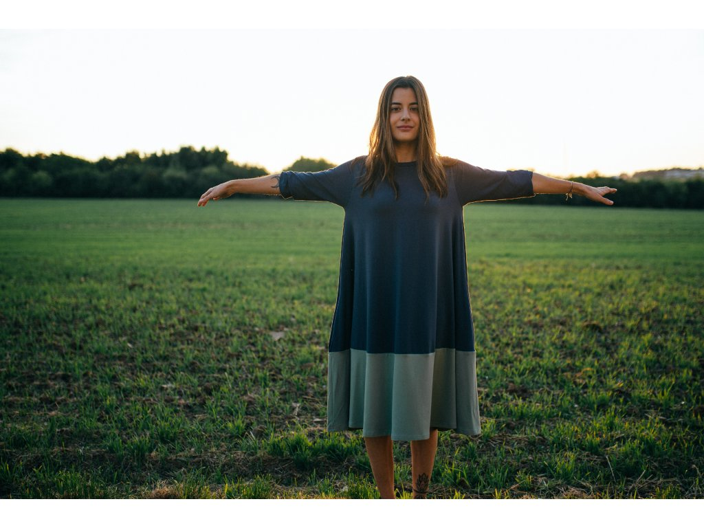 Šaty Nika Olive
