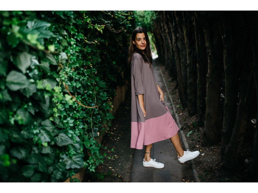 Šaty Nika Pale Pink
