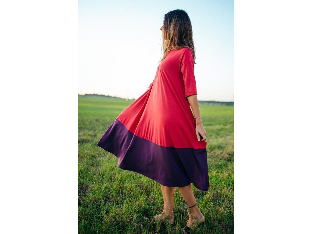 Šaty Nika Plum