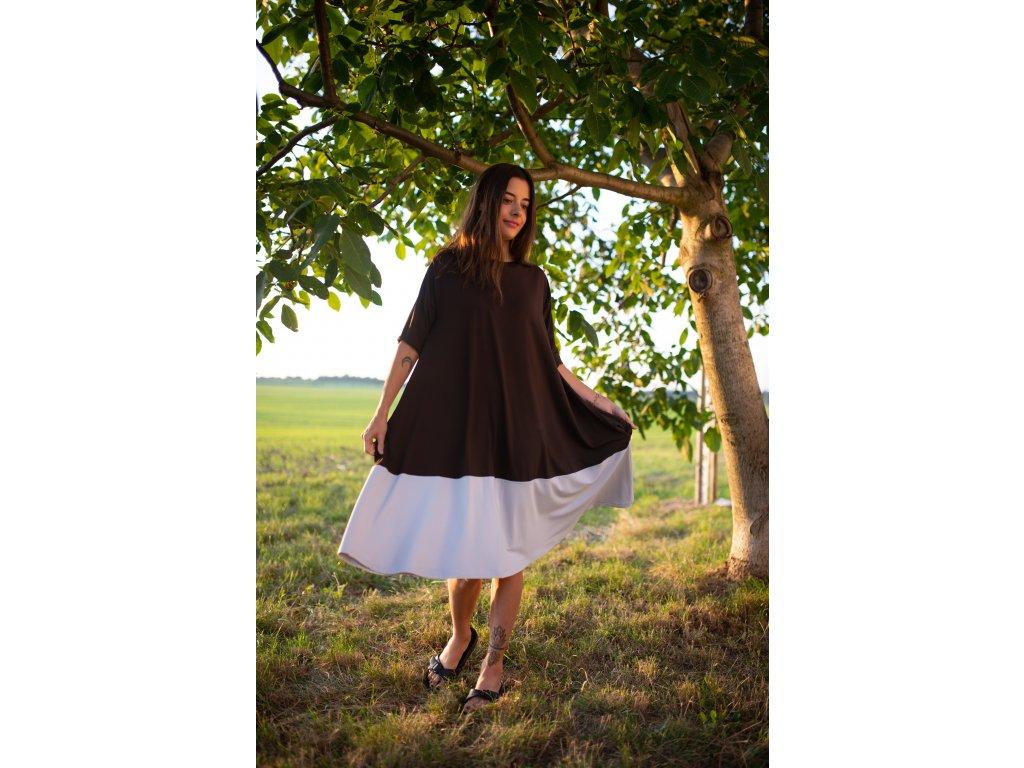Šaty Nika Brown