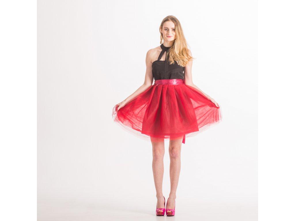 tylová sukně TUTU Flame