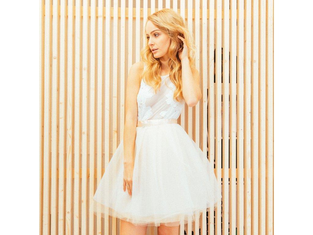2a54b1b805a dlouhé a svatební tutu sukně Akari