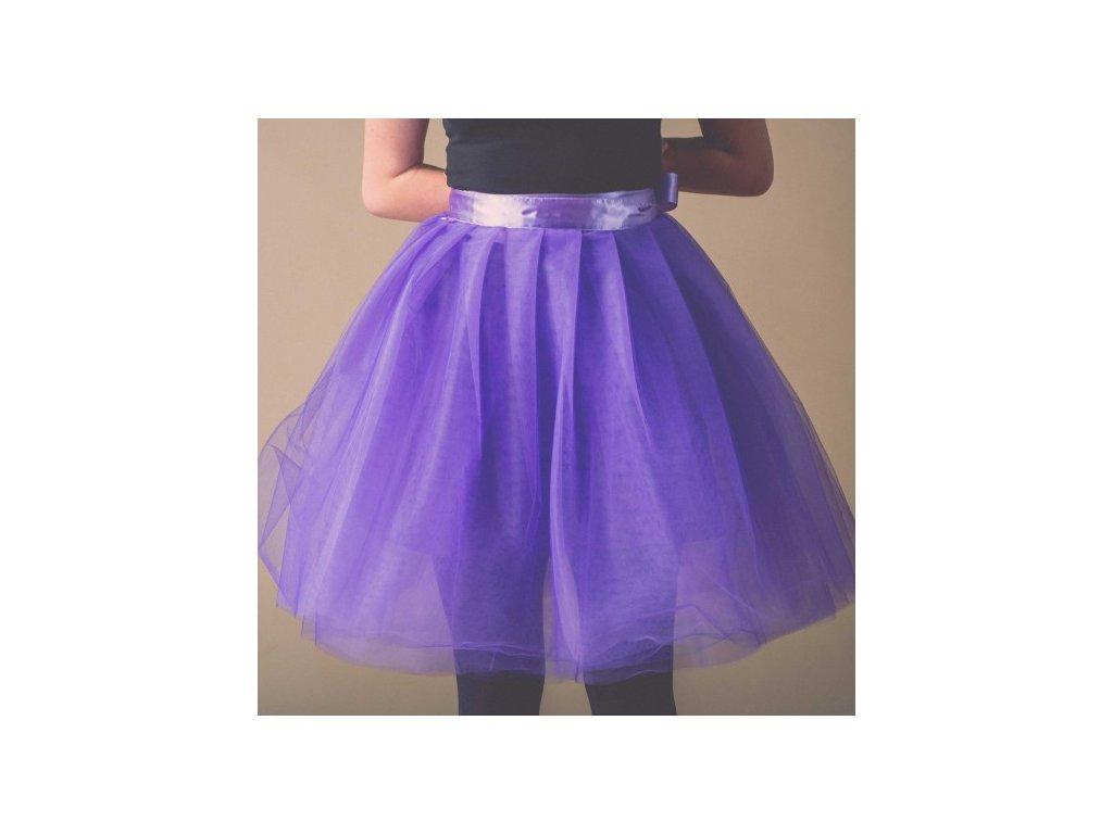 tylová sukně TUTU Violetu