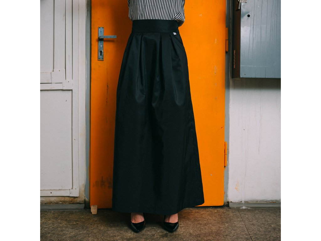 Dlouhá elegantní sukně Katsu black