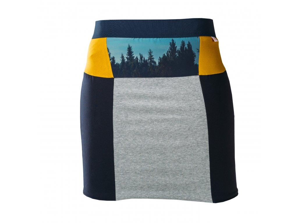 Úzká áčková sukně Šumava