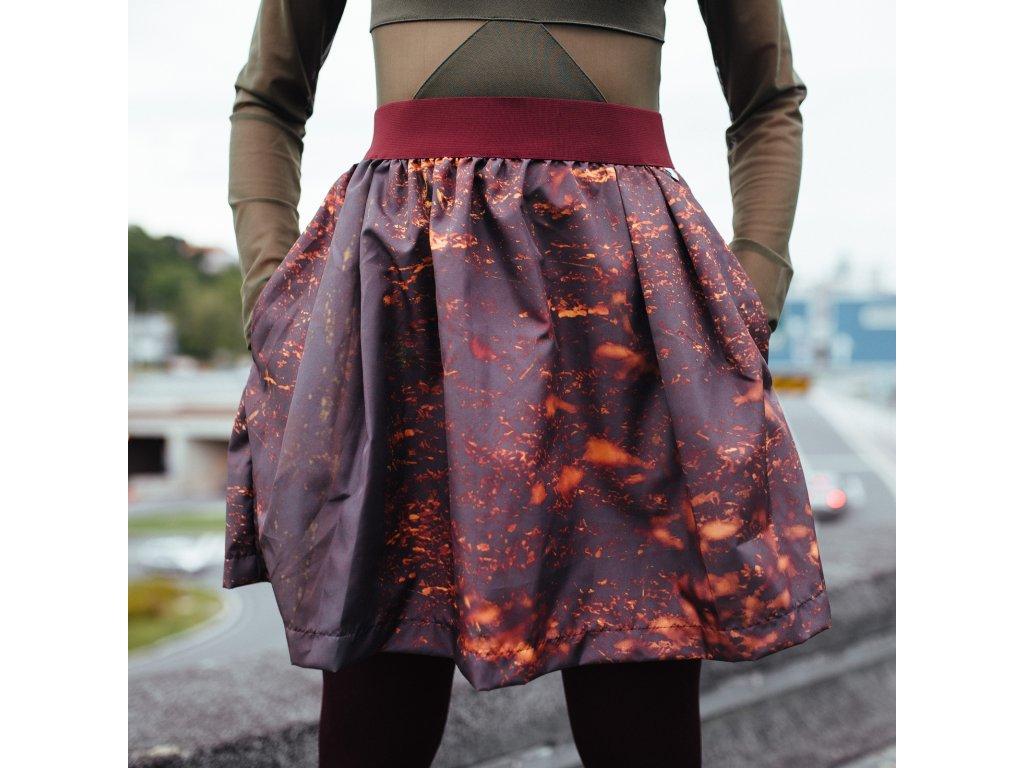 áčková sukně Autumn forrest