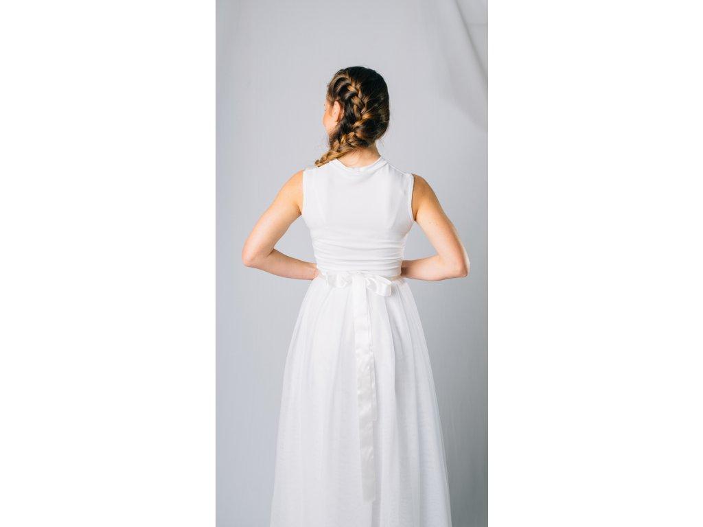 d4c312396f0 Dlouhá tylová sukně Víla na objednávku - Akari