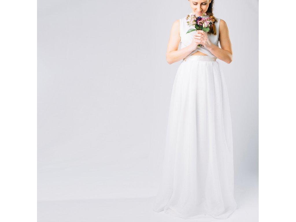 Dlouhá tylová sukně Víla na objednávku