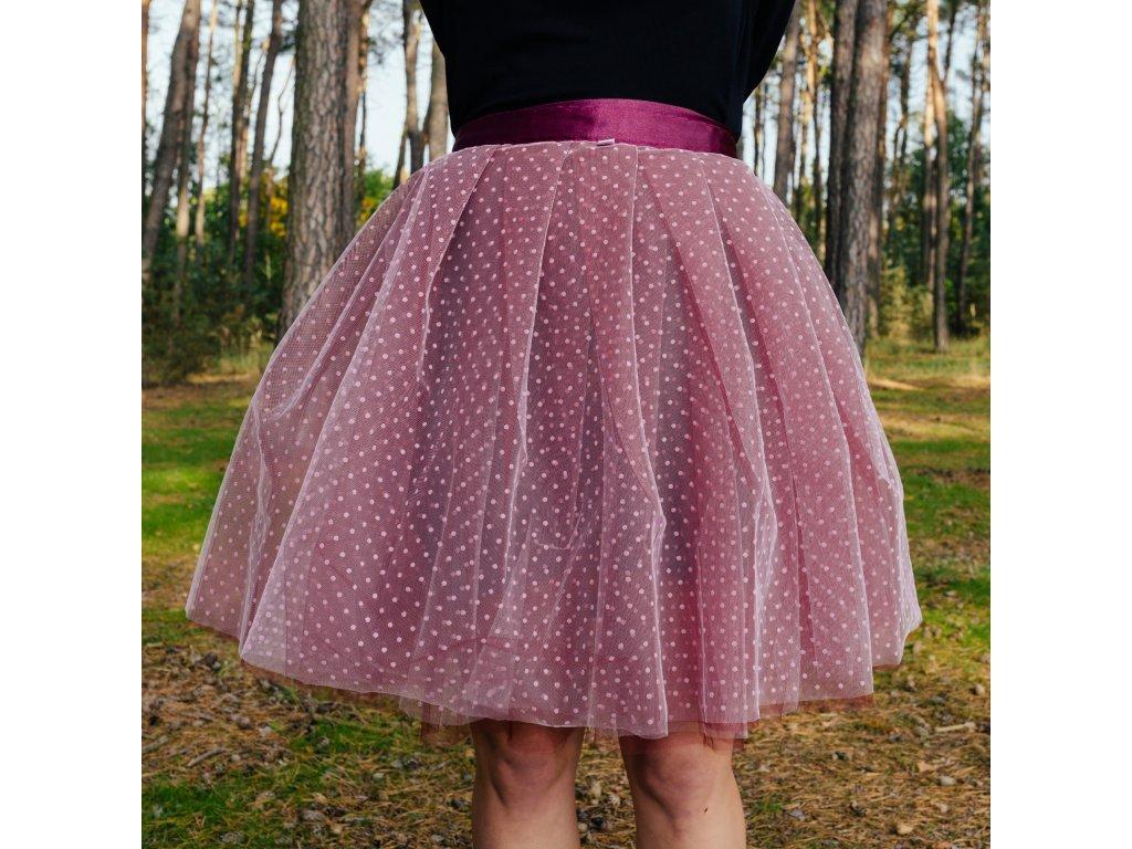 tylová sukně TUTU Chrysantheme