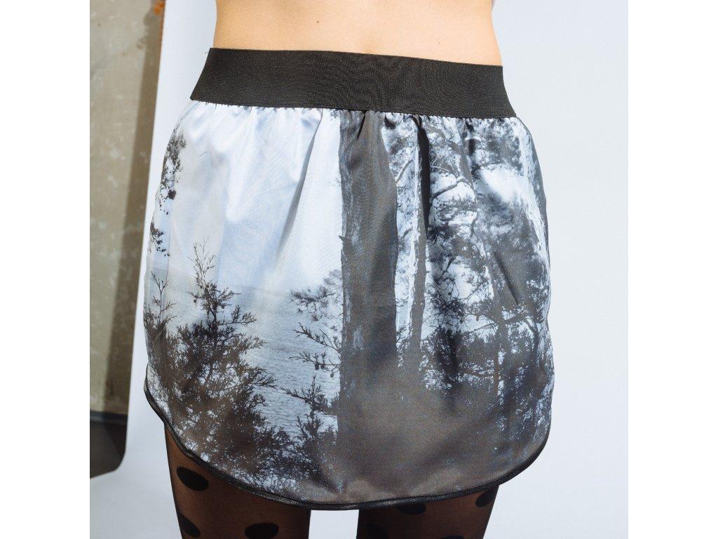 áčková sukně Black&White shorts