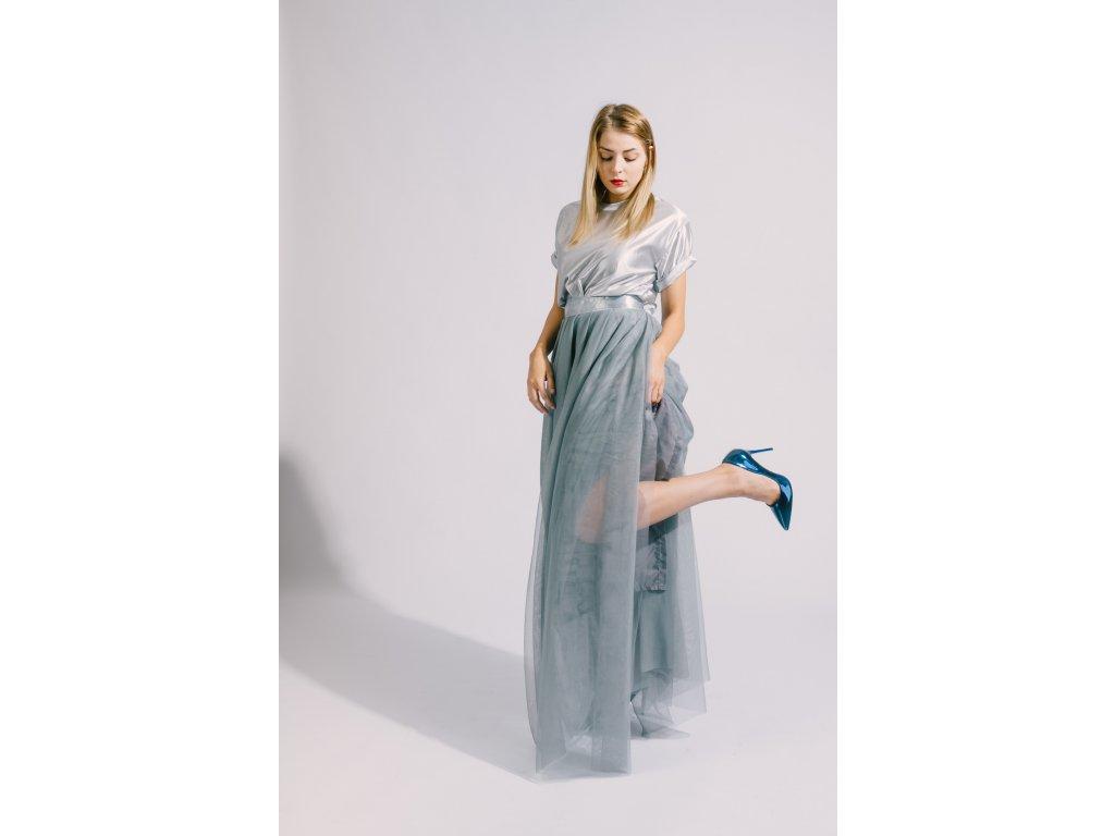 6845cbc6016 Dlouhá tylová sukně Víla - Akari