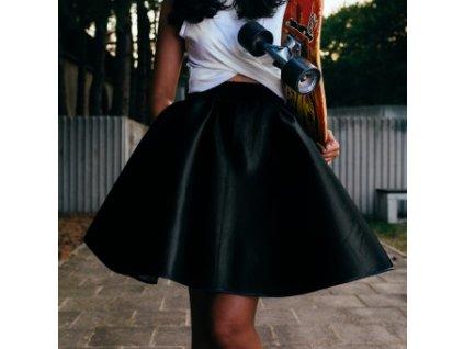 neoprenová sukně Cosmique black