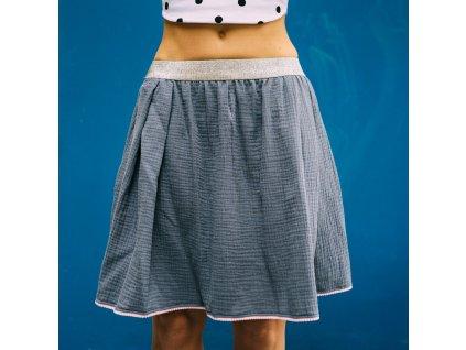 áčková sukně Muselin Pink