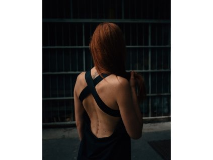 OH, Maxi Šaty s odhalenými zády