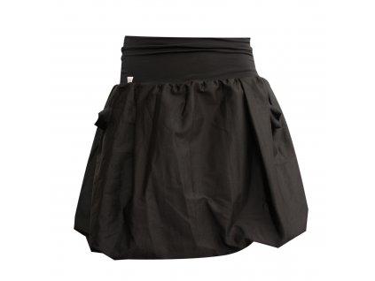 Balonová sukně Pockets black