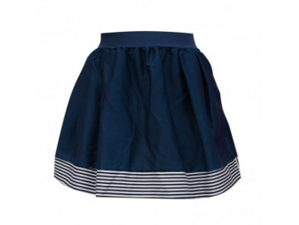 áčková sukně Stripes deep blue s tmavě modrou gumou