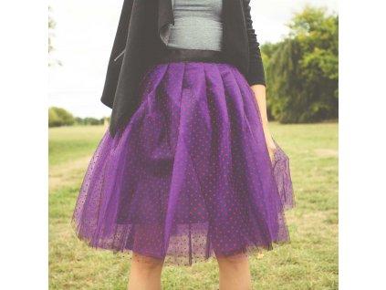 tylová sukně TUTU Baron