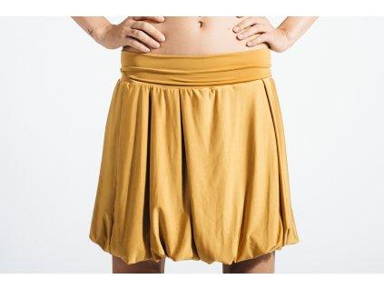 Balonová sukně Supercomfy Mustard