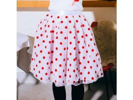 tylová sukně TUTU big dots Družstvo