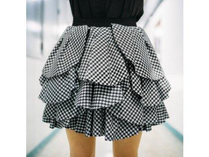 sukně LOLA kouhoutí stopa