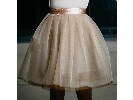 tylová sukně TUTU Sand