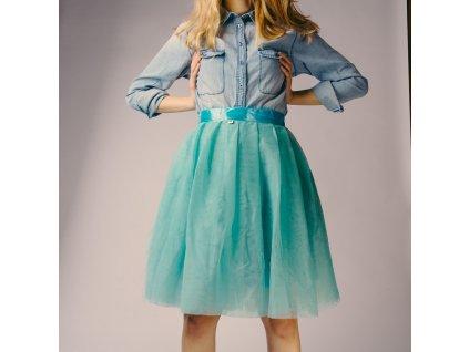 tylová sukně TUTU Mint