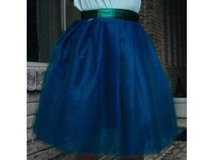 tylová sukně TUTU Deep Green