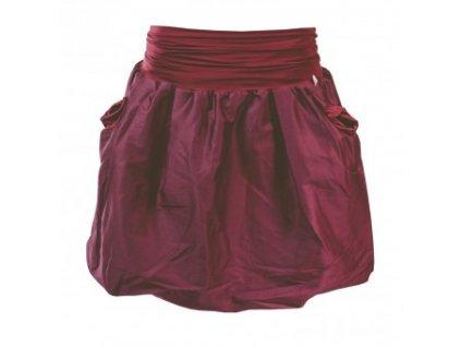 Balonová sukně Pockets wine